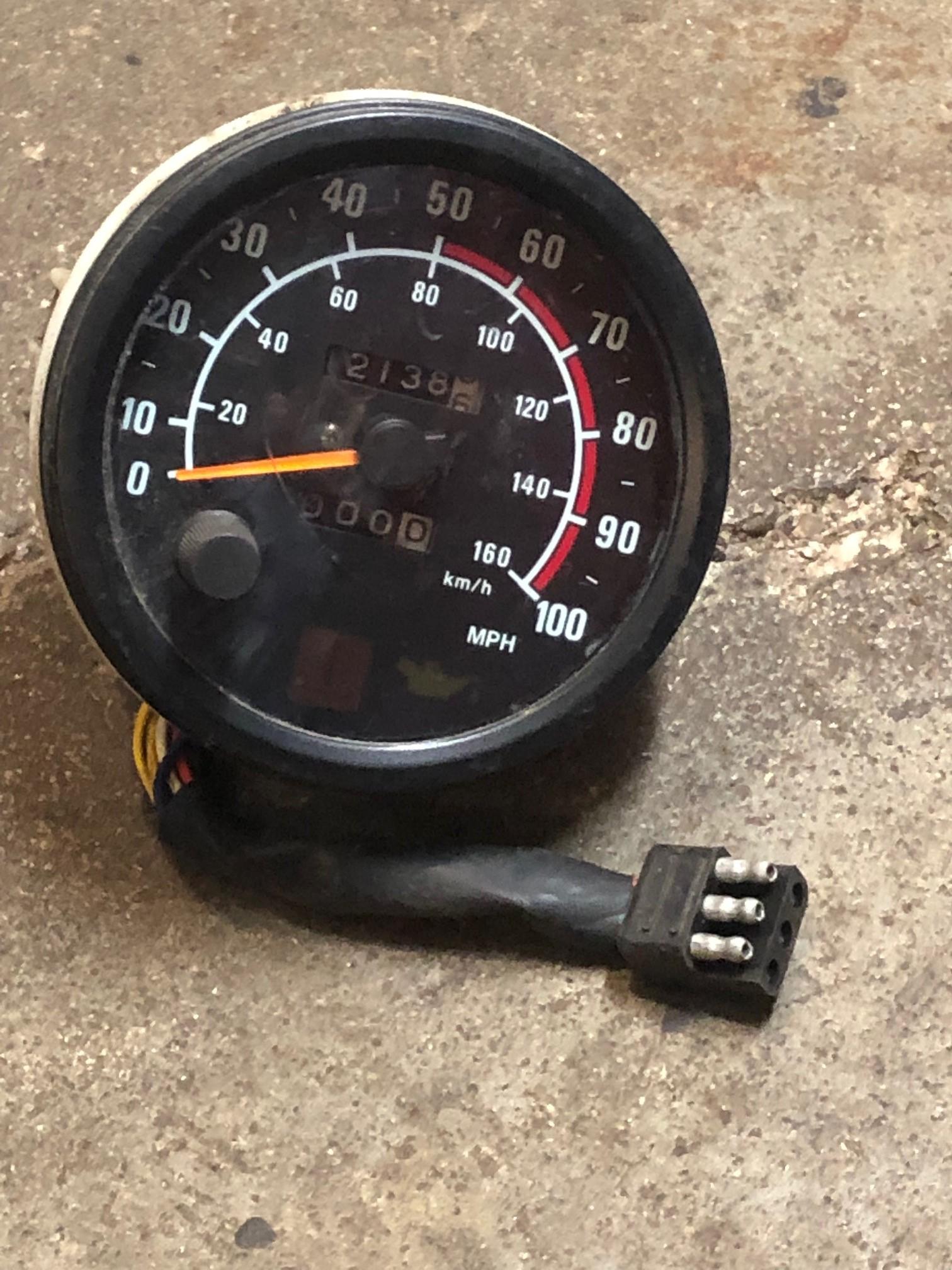 2002 zr 500  Speedometer Gauge