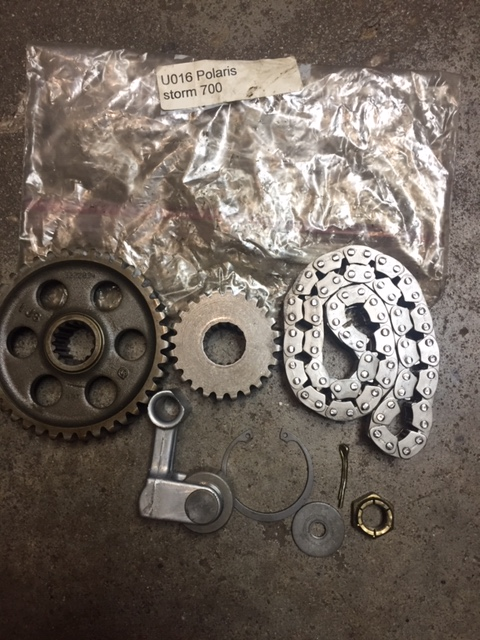 Indy Storm 700 Inner Chain Case Parts