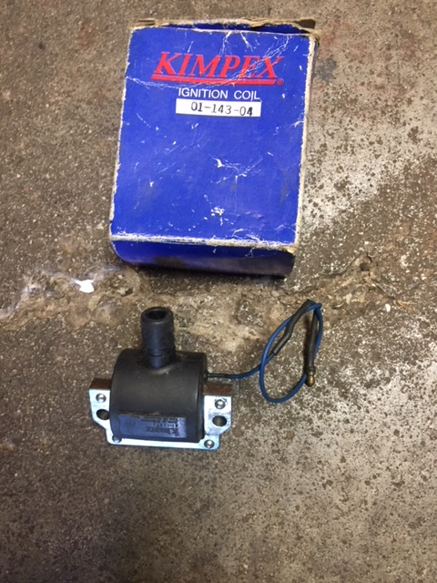 new kimpex single  ignition coil #0114304